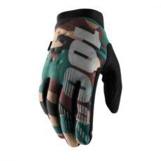 100% brisker handschoenen camo black