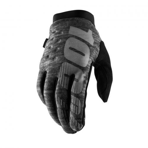 100% brisker handschoenen heather