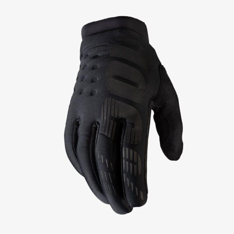 100% Brisker handschoenen kids black