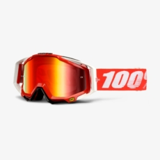 100% Racecraft goggle crossbril Fire Red