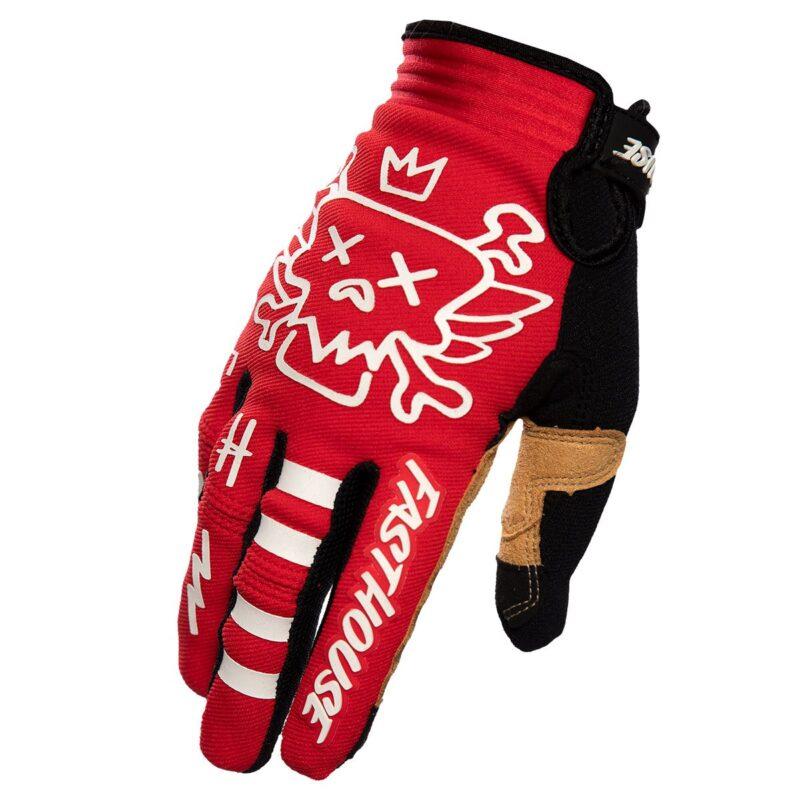 Fasthouse handschoenen_Stomp_Handschoen Red