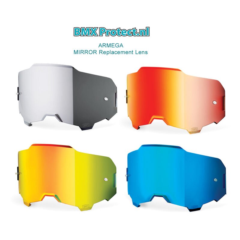 100% Armega mirror lens overzicht
