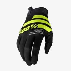 100% iTrack handschoenen_blk_fluoyellow-1