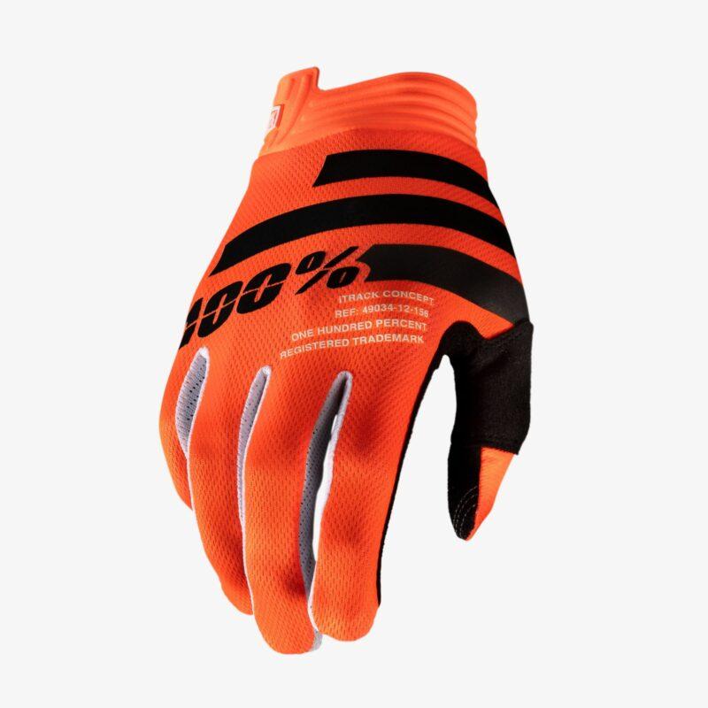 100% iTrack handschoenen _orange