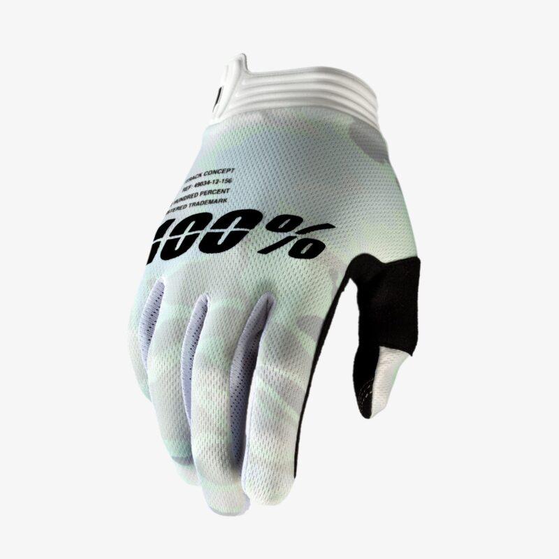100% iTrack handschoenen_white_camo