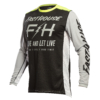 FASTHOUSE JERSEY CLYDE BLACK/SILVER front