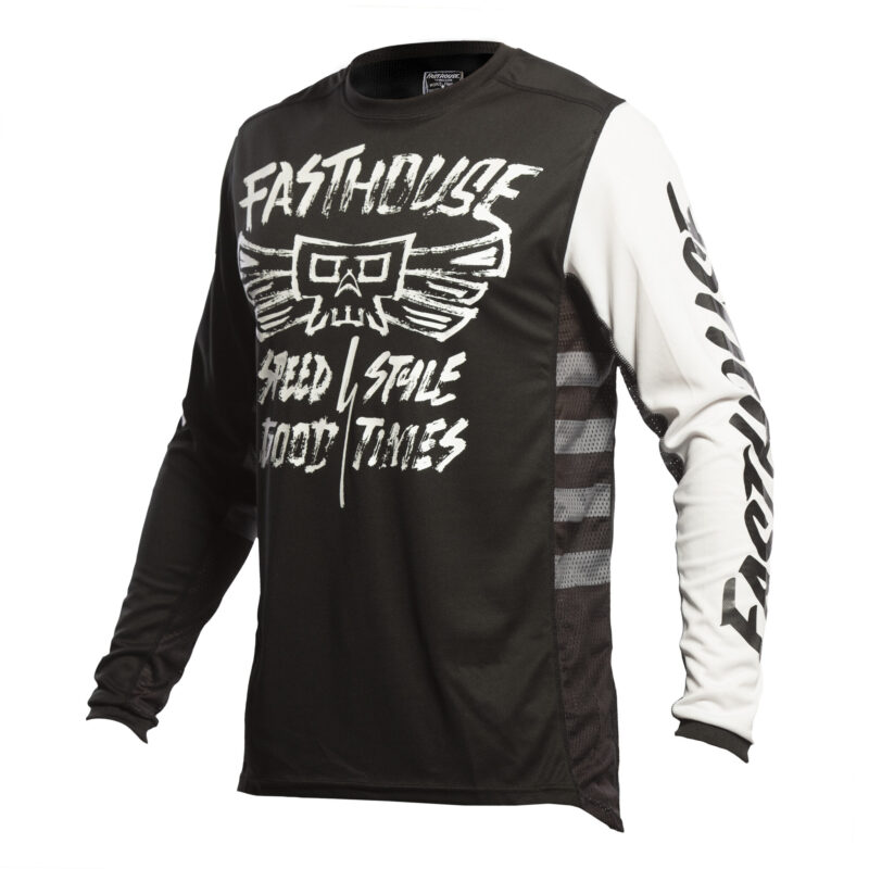 FASTHOUSE JERSEY TRIBE BLACK front