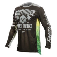 FASTHOUSE JERSEY SWELL BLACK/CHARCOAL-front