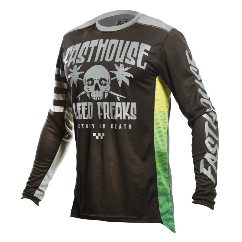 FASTHOUSE bmx shirt SWELL BLACK/CHARCOAL-front
