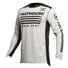FASTHOUSE JERSEY HALT WHITE-front
