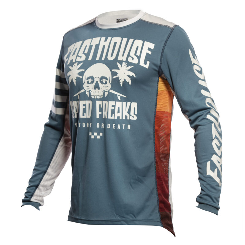 FASTHOUSE JERSEY SWELL SLATE/WHITE-front