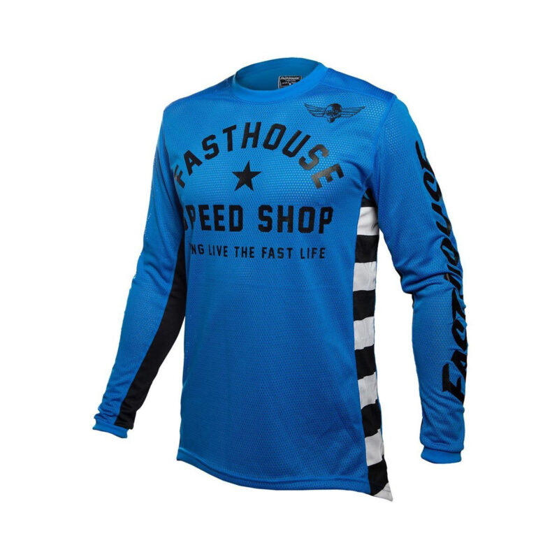 FASTHOUSE BMX shirt Youth ORIGINALS AIR COOLED Blue-front