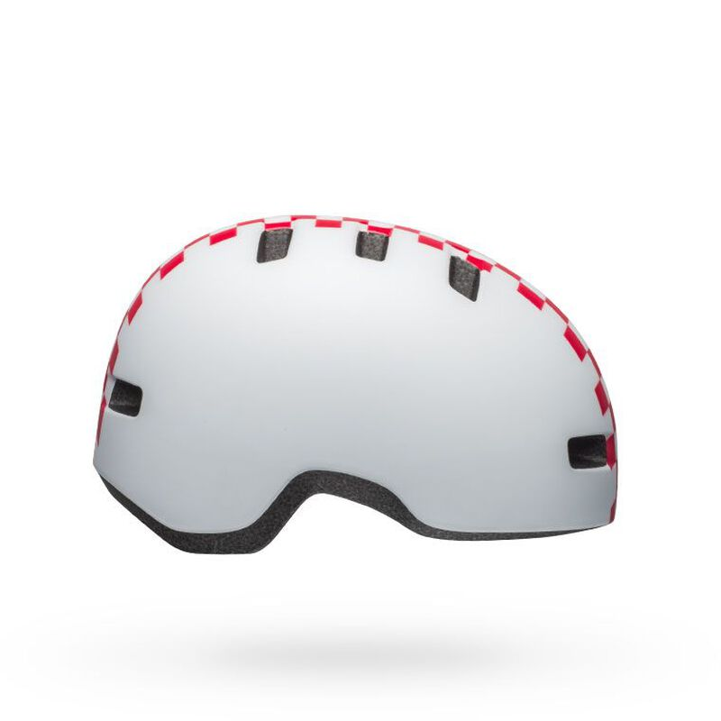 BMXprotect Bell Lil Ripper helm checkers matte white pink