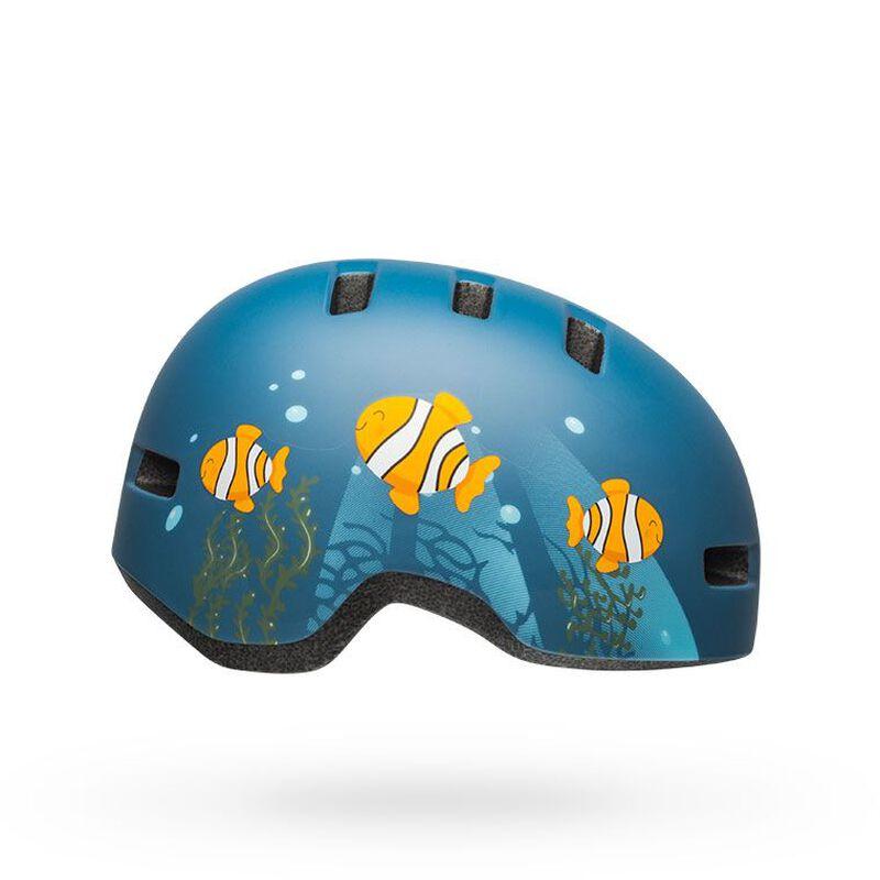 BMXprotect Bell Lil Ripper clownfish matte grey blue