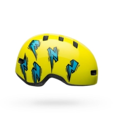 BMXprotect Bell Lil Ripper Hi-Viz Blue bolt