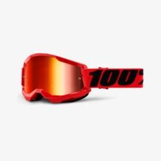 100% Strata2 crossbril goggle RED