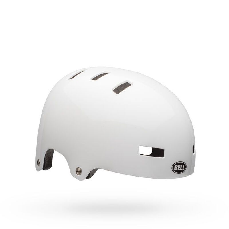 Bell local helm gloss white