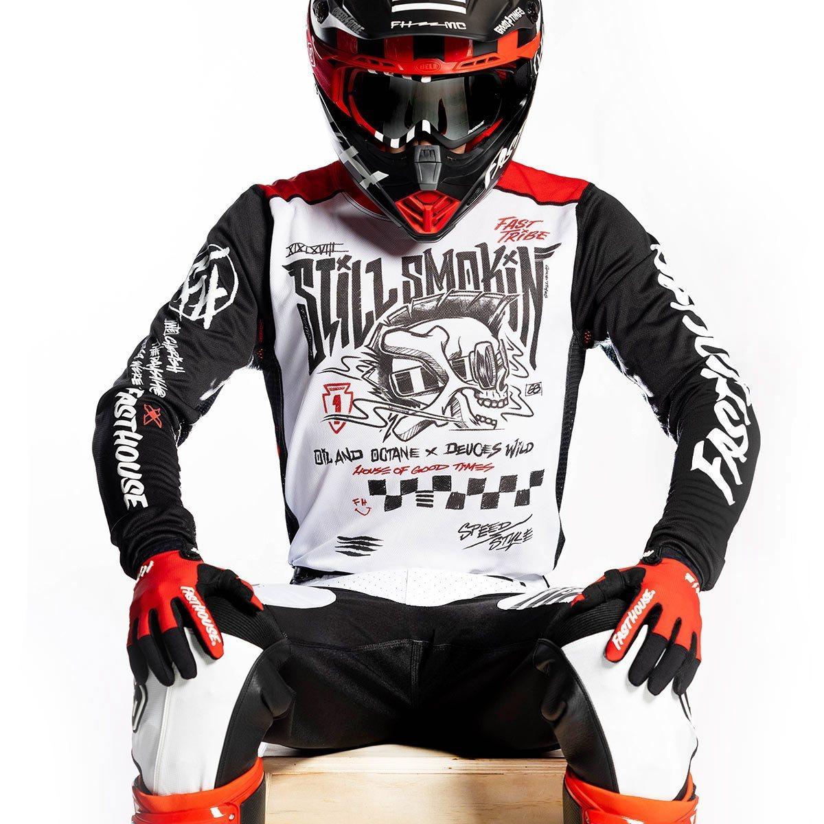 BMXProtect Raceshirt Still Smoking 21