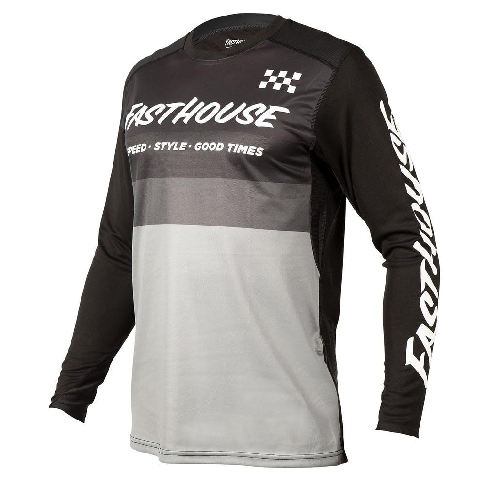 BMXProtect Raceshirt ALLOY KILO Gray/White