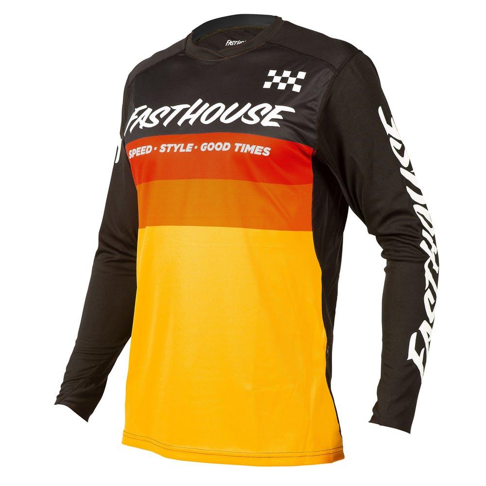 BMXProtect Raceshirt ALLOY KILO Black/Yellow