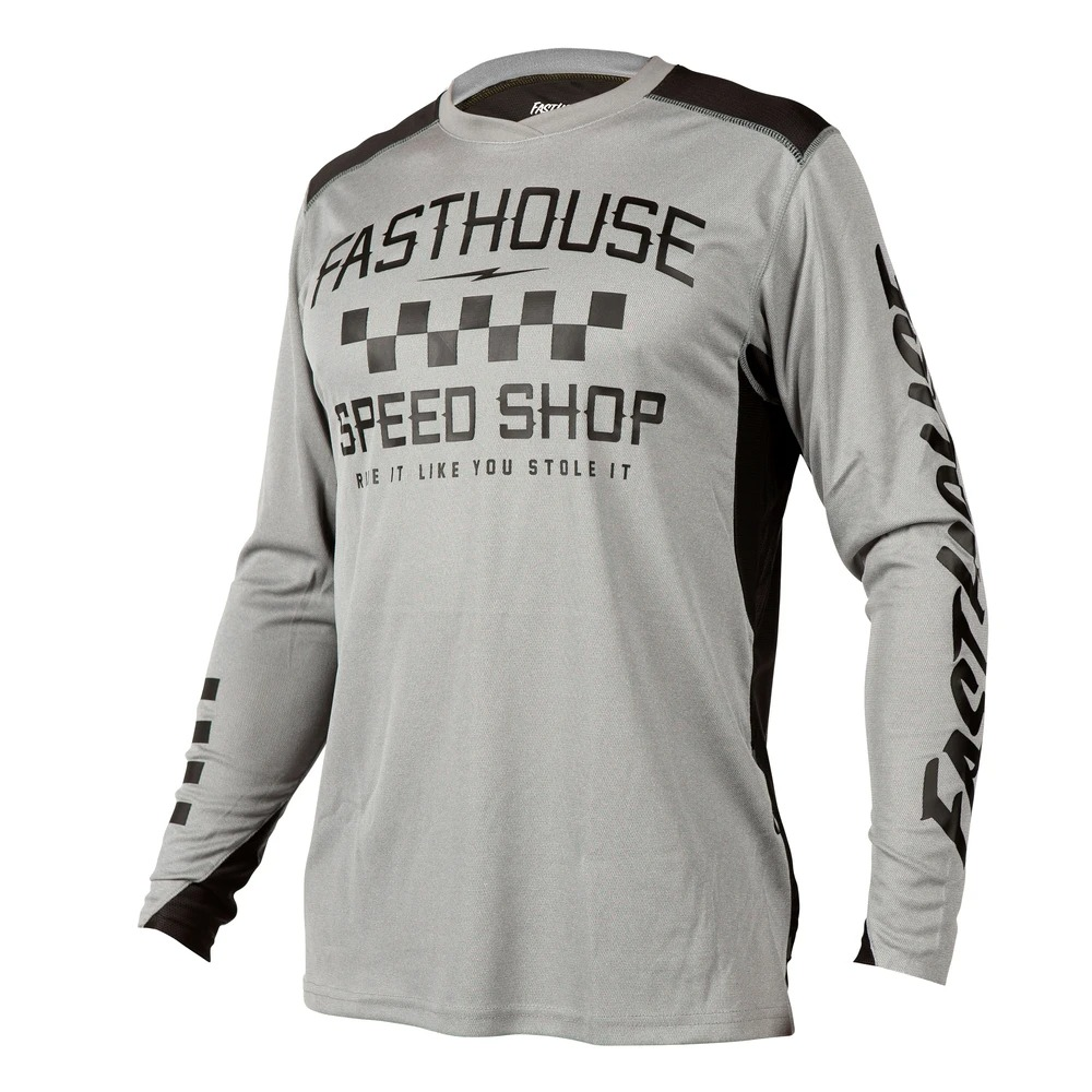 BMXProtect Raceshirt ALLOY Heather-grey
