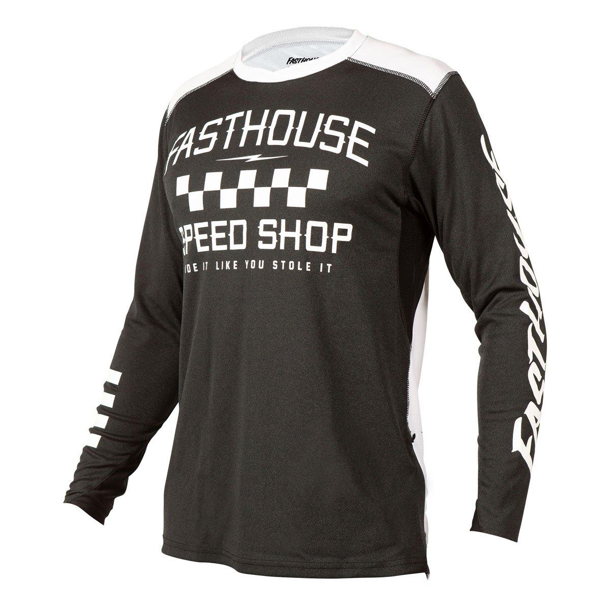 BMXProtect Raceshirt ALLOY Heather-Black