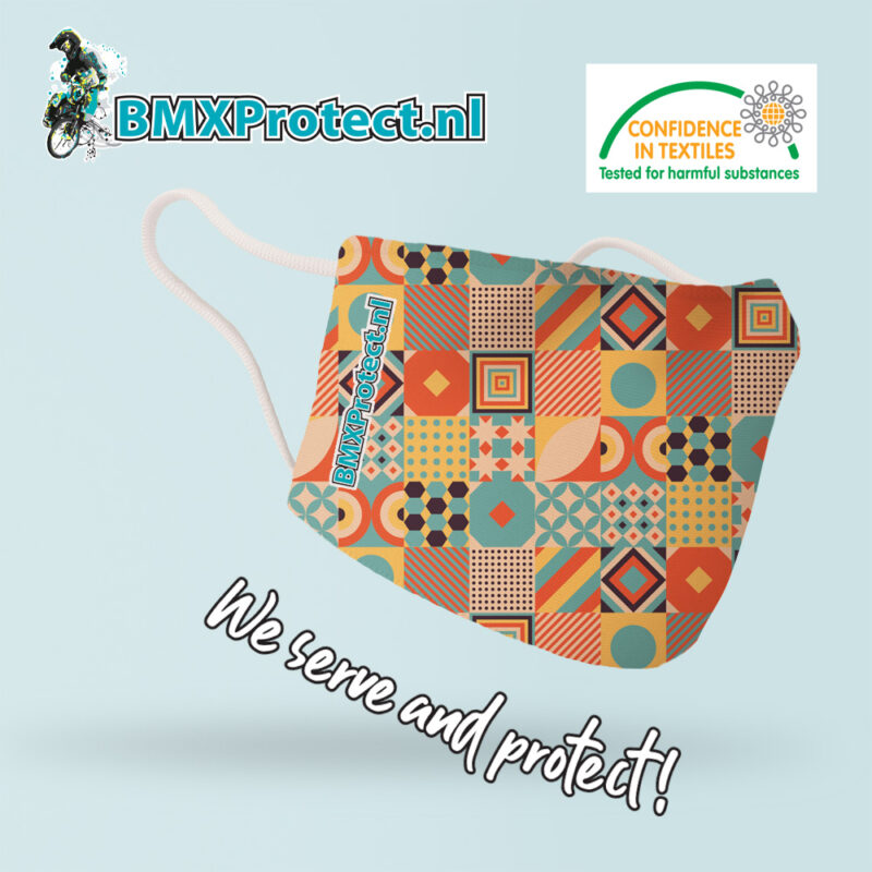 facemask mosaic