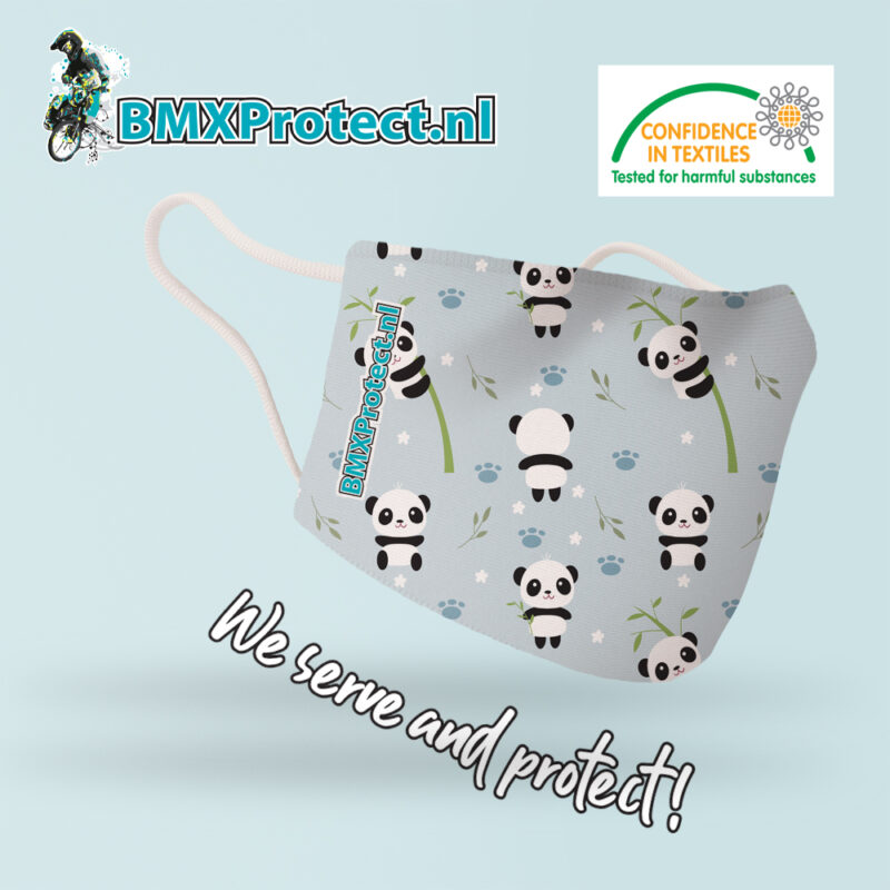 fashion mondkapje bamboo panda