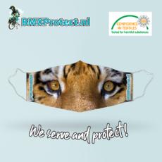 fashion mondkapje tiger